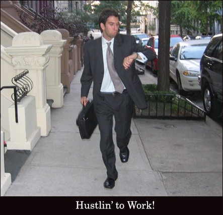 Hustlin' to Work