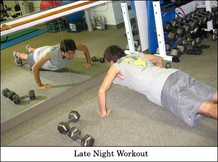 Late Night Pushups!