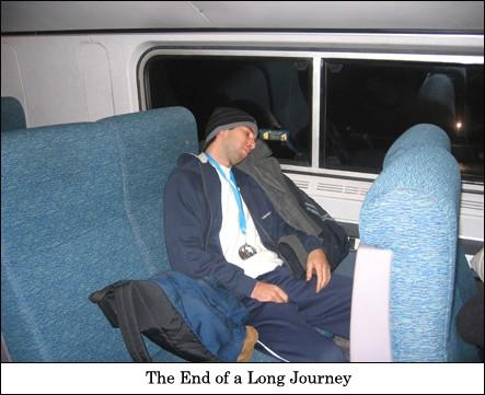 Train Ride backHome
